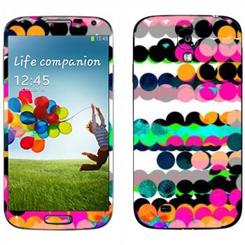 Виниловая наклейка «Разноцветные шары - Georgiana Paraschiv» на телефон Samsung Galaxy S4