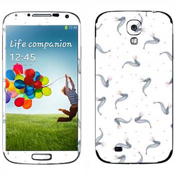 Виниловая наклейка «Рыбки - Kisung» на телефон Samsung Galaxy S4