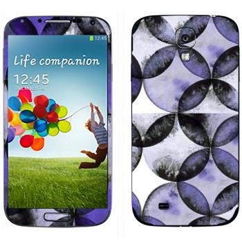 Виниловая наклейка «Странные цветы - Georgiana Paraschiv» на телефон Samsung Galaxy S4
