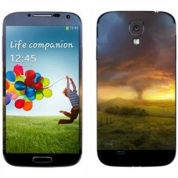Виниловая наклейка «Торнадо в Стране Оз» на телефон Samsung Galaxy S4
