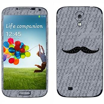 Виниловая наклейка «Усы» на телефон Samsung Galaxy S4