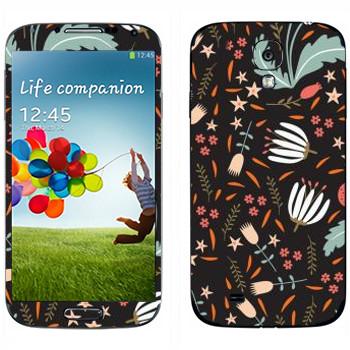 Виниловая наклейка «Узор от Anna Deegan» на телефон Samsung Galaxy S4