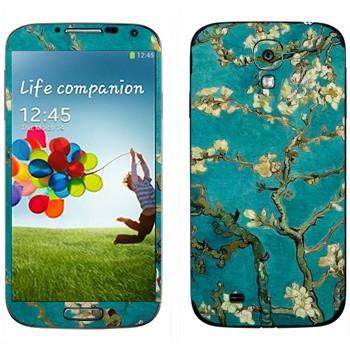 Виниловая наклейка «Ван Гог  - Цветущее Миндальное Дерево» на телефон Samsung Galaxy S4