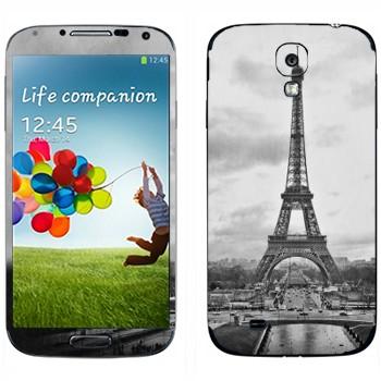 Виниловая наклейка «Эйфелева башня» на телефон Samsung Galaxy S4