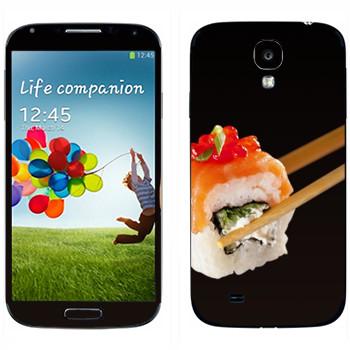 Виниловая наклейка «Суши, ролл» на телефон Samsung Galaxy S4
