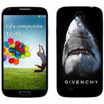 Виниловая наклейка «Акула Givenchy» на телефон Samsung Galaxy S4