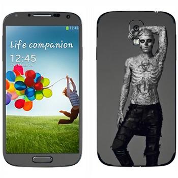 Виниловая наклейка «Рик Дженест - Zombie Boy» на телефон Samsung Galaxy S4