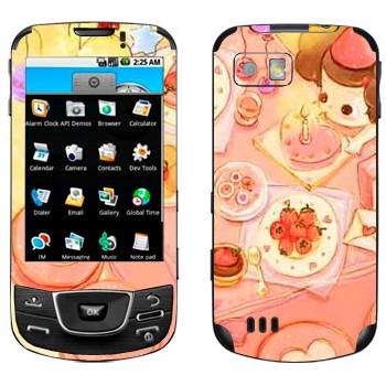 Виниловая наклейка «День рождения» на телефон Samsung Galaxy