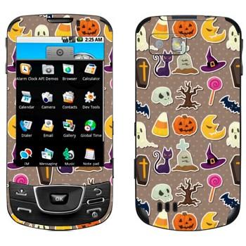 Виниловая наклейка «Хэллоуин обложка» на телефон Samsung Galaxy