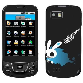 Виниловая наклейка «Хэллоуиновский кролик» на телефон Samsung Galaxy