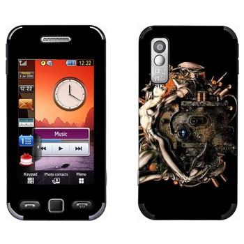 Виниловая наклейка «Ghost in the Shell» на телефон Samsung S5230