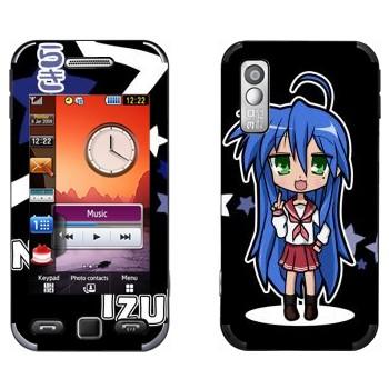 Виниловая наклейка «Konata Izumi - Lucky Star» на телефон Samsung S5230