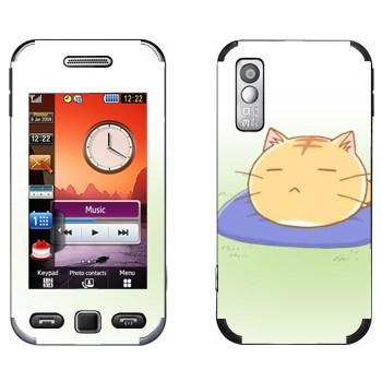 Виниловая наклейка «Poyo спит» на телефон Samsung S5230