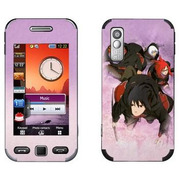 Виниловая наклейка «Бойцы - Наруто» на телефон Samsung S5230