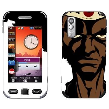 Виниловая наклейка «Чернокожий самурай - Afro Samurai» на телефон Samsung S5230