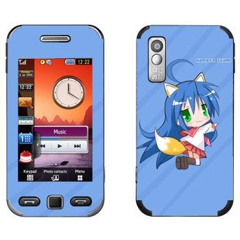 Виниловая наклейка «Идзуми Коната  - Lucky Star» на телефон Samsung S5230