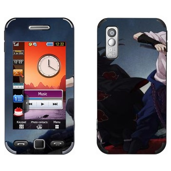 Виниловая наклейка «Итачи и Саске - Наруто» на телефон Samsung S5230