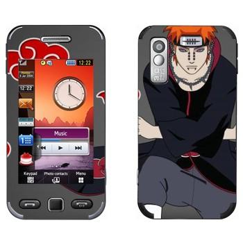 Виниловая наклейка «Пейн - Наруто» на телефон Samsung S5230