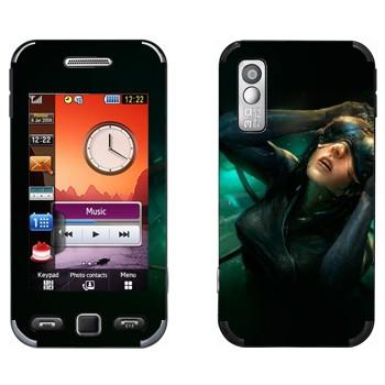 Виниловая наклейка «Призрак в доспехах» на телефон Samsung S5230