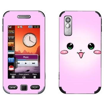 Виниловая наклейка «Розовый кролик - Kawaii» на телефон Samsung S5230