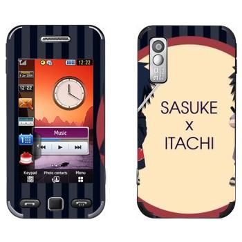 Виниловая наклейка «Саске и Итачи - Наруто» на телефон Samsung S5230