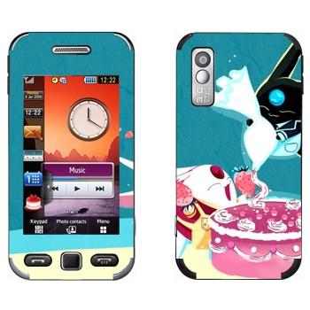 Виниловая наклейка «Торт Моконы» на телефон Samsung S5230