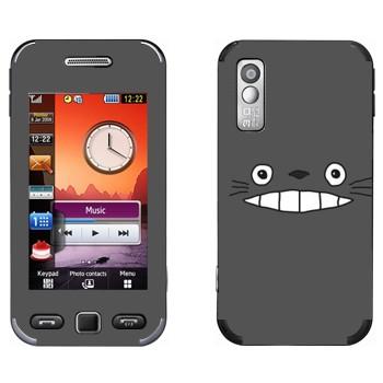 Виниловая наклейка «Тоторо серый» на телефон Samsung S5230