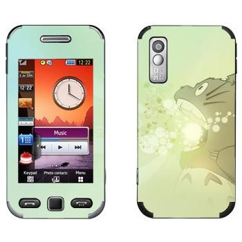 Виниловая наклейка «Тоторо злой» на телефон Samsung S5230