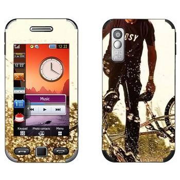 Виниловая наклейка «BMX» на телефон Samsung S5230