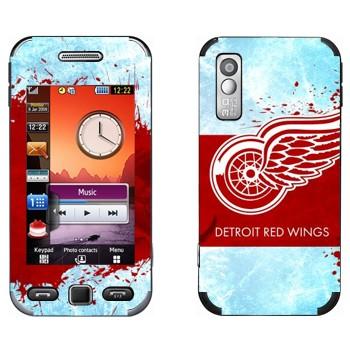 Виниловая наклейка «Detroit red wings» на телефон Samsung S5230