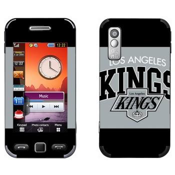Виниловая наклейка «Los Angeles Kings» на телефон Samsung S5230