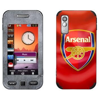Виниловая наклейка «Арсенал эмблема» на телефон Samsung S5230