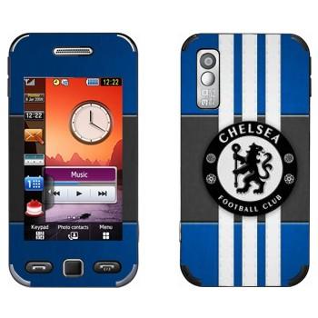 Виниловая наклейка «ФК Челси» на телефон Samsung S5230