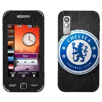 Виниловая наклейка «Челси эмблема» на телефон Samsung S5230