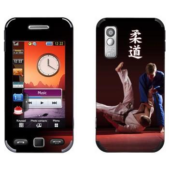 Виниловая наклейка «Дзюдо» на телефон Samsung S5230