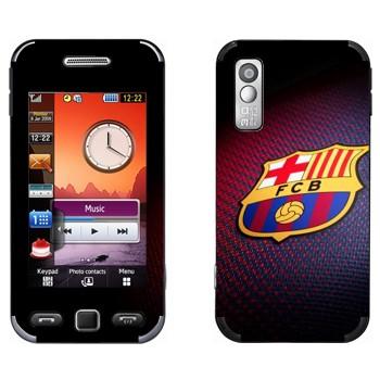 Виниловая наклейка «Эмблема ФК Барселона» на телефон Samsung S5230