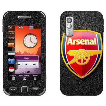 Виниловая наклейка «ФК Арсенал эмблема» на телефон Samsung S5230