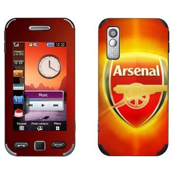 Виниловая наклейка «ФК Арсенал» на телефон Samsung S5230