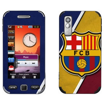 Виниловая наклейка «ФК Барселона логотип» на телефон Samsung S5230