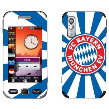 Виниловая наклейка «ФК Бавария эмблема» на телефон Samsung S5230
