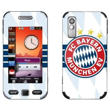 Виниловая наклейка «ФК Бавария Мюнхен» на телефон Samsung S5230