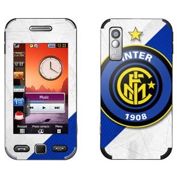 Виниловая наклейка «ФК Интер эмблема» на телефон Samsung S5230