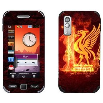 Виниловая наклейка «ФК Ливерпуль» на телефон Samsung S5230