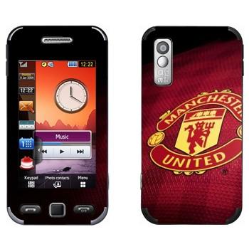 Виниловая наклейка «ФК Манчестер Юнайтед» на телефон Samsung S5230