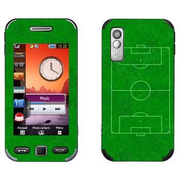 Виниловая наклейка «Футбольное поле» на телефон Samsung S5230