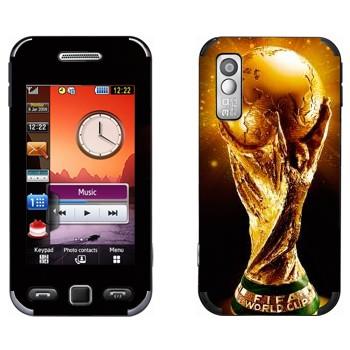 Виниловая наклейка «Кубок Чемпионов мира по футболу» на телефон Samsung S5230