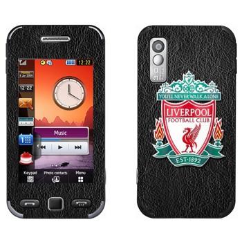 Виниловая наклейка «Ливерпуль эмблема» на телефон Samsung S5230