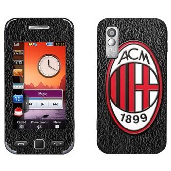 Виниловая наклейка «Милан эмблема» на телефон Samsung S5230