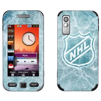 Виниловая наклейка «НХЛ логотип» на телефон Samsung S5230