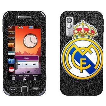 Виниловая наклейка «Реал Мадрид эмблема» на телефон Samsung S5230